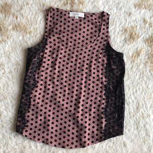Ann Taylor loft tank blouse size small petite